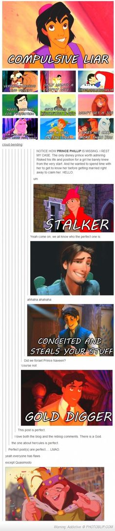 Disney princes...