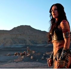 "Dejah Thoris in John Carter.  It should have been retitled, ""Dejah Thoris: Martian Warrior Princess."""