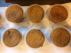 Carrot Cinnamon Muffins -  I make these some weekends as a healthy alternative to the box mixes.  I vary the recipe slightly with a little more cinnamon, blend the carrots and liquid ingredients in our Ninja blender, and cook large muffins for almost 30 minutes.