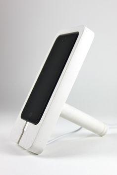 Concrete iphone 5 Dock