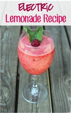 summer beverag, electr raspberri, thefrugalgirl, raspberri lemonad