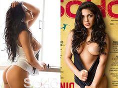 Vania Bludau se desnuda en candentes fotos para Soho