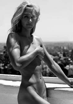 Olympic snowboarder Gretchen Bleiler (from the ESPN Body Issue)