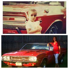 Miss Mopar Then & Now ;)