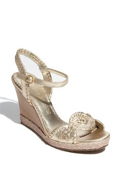Jack Rogers 'Clare Rope' Wedge available at #Nordstrom