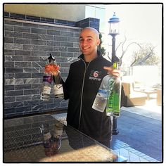 Our bartender, Joe at Rooftop 866! #bartender #midtown #atlanta #bar
