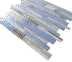 Matchstix Kismet Glass Tile contemporary bathroom tile