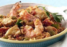 Healthy Slow Cooker Jambalaya