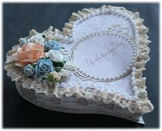 JennyGrotherus Heart Box made from Maja Design papers    http://charlotteswebpapercraft.com.au/maja-design-scrapbooking-paper/