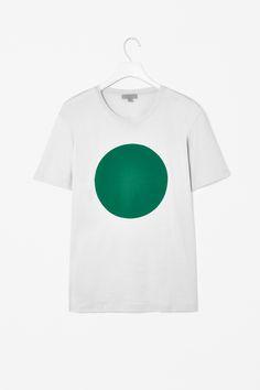 Bonded circle t-shirt / COS