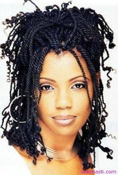 African American Two strand twists