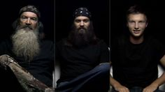 """Three men of the """"Duck Dynasty"""" empire — Phil Robertson, Jep Robertson, and Reed Robertson — opened up about their paths to Jesus for a 30-minute documentary on IamSecond.com."""