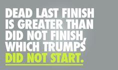 A bad run is better than no run