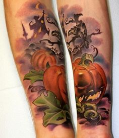 haunted jack-o-sleeve! OoooooOOooo!