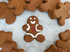 Gluten-Free Gingerbread Cookies (dairy-free, egg-free, and soy-free too!