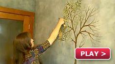 Faux Fresco Mural how to