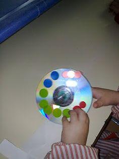 Como hacer una Peonza con un CD