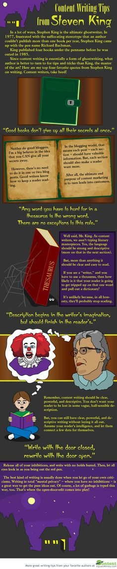 Content Writing Tips From Stephen King