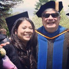 The hardest thing about graduating from cazenovia college was leaving Dr. Greene by thienanny