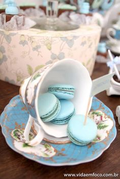 tea cup decoration i