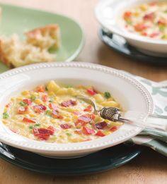 Corn and Bell Pepper Chowder - Bon Appétit