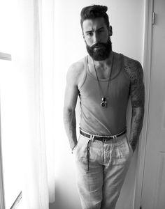 Man Style   Undercut. Beard.