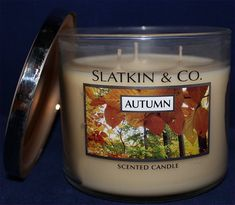 autumn candle bath and body works