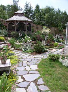 rock garden | Rock Garden Walkway Walkway 2