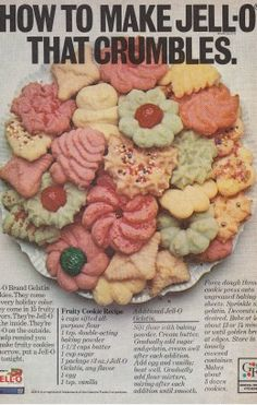 cookie press recipes, christmas cookie recipes, jello spritz, cooki press, spritz cookies, jello cookies recipe, bake, cookie cutters, spritz cookie recipe