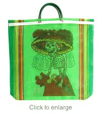 Mexican market bags.