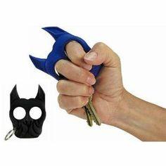 Brutus the Bull Dog Self Defense Keychain - BLACK