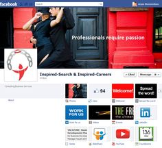 Facebook Page of Inspired Search  https://www.facebook.com/InspiredSearch