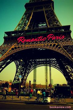 Ohhh Paris.. I've been there 3 times and still want to go there every time i'm in a mood for a romantic vacation. Here are 10 attrcations for couples in Paris