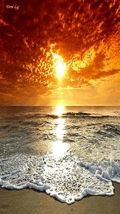 #sunset #beach #beauty #surf