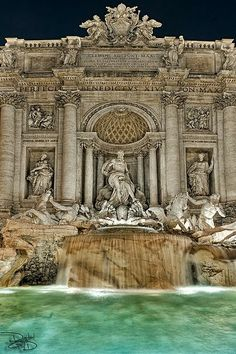 one day, trevifountain, coins, fountains, rome italy