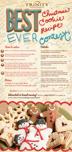 Enter our 'Best Cookie Recipe Ever' contest!