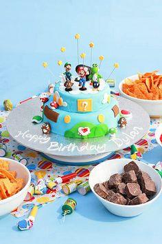 Mario Cake-4 by dainty baker, via Flickr