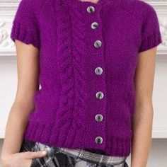 Topside Knit Cardi | FaveCrafts.com