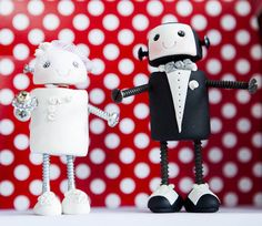 Geeky Robot Wedding: Nick & Barbara