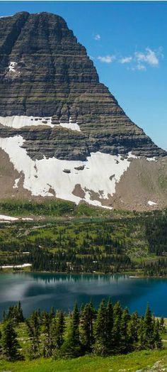 a644a2a7da3701eae7a72b9abf9e79c1.jpg Hidden Lake and Bearhat Mountain, Glacier National Park, Montana via www.pinterest.com
