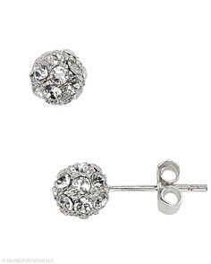 The art of basic calls for #SterlingSilver and #Swarovski #Crystal #Earrings that are small in size and big on glam. #Silpada #Sparkle