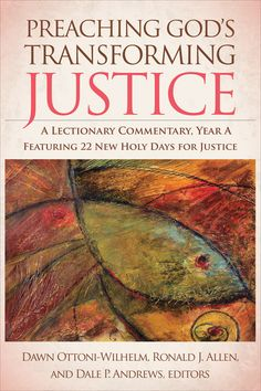 Order at: http://store.pcusa.org/9780664234539_2 This unique new commentary series helps the preacher identify and reflect on the social implications of the biblical readings in the Revised Common Lectionary. The essays concentrate on the themes of social justice in the weekly texts and how those themes can be teachable moments for preaching social justice in the church.