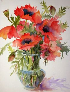 Barb Clarke original watercolors