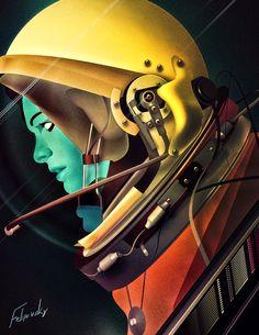 Cosmonaut II by Felipevsky