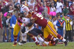 Barry Cofield crushes Josh McCown #Redskins win! #httr
