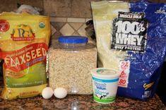 Protein Packed Pancakes Ingredients