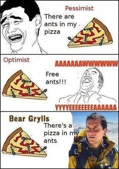 Bear Grylls .