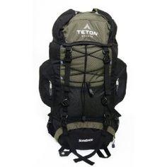 TETON Sports Scout 3400 Internal Frame Backpack (Hunter Green) $61.92