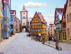 Rothenburg...one of my all-time favorite places to be.
