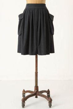 effortless corduroy skirt from anthropologie